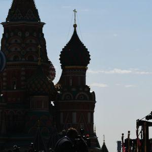 Kuvassa on voitonpäivän paraati Moskovassa kesäkuun lopulla.