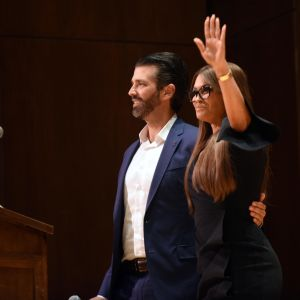 Donald Trump Jr. ja tyttöystävä Kimberly Guilfoyle
