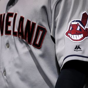 Kuva Cleveland Indiansin pelipaidasta.