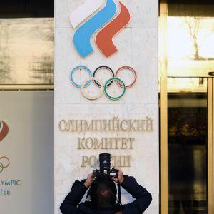 Venäjän olympiakomitean päämaja Moskovassa.