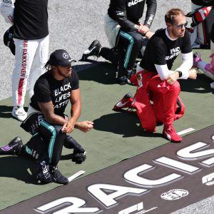 Lewis Hamilton, polvistuminen