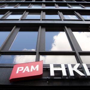 PAMin toimitalo Helsingin Hakaniemessä.