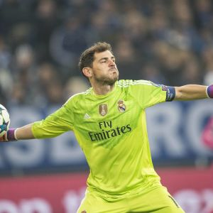 Iker Casillas Real Madrid 2015