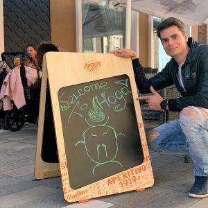 Kirill Saidkhanin omistama Hogo-ravintola avasi ovensa kesäkuussa.