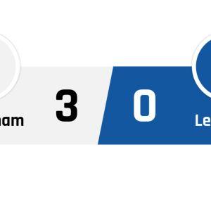 Tottenham - Leicester 3-0