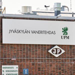 UPM Plywood Jyväskylän vaneritehdas Säynätsalossa.