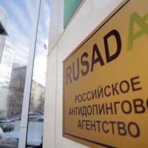 Venäjän antidopingtoimiston Rusadan ympärillä kuohuu.