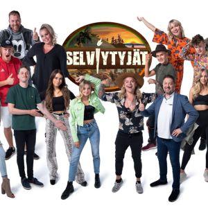 Selviytyjät pohjoisessa -realitysarjassa kilpailee 16 suomalaista julkisuuden henkilöä