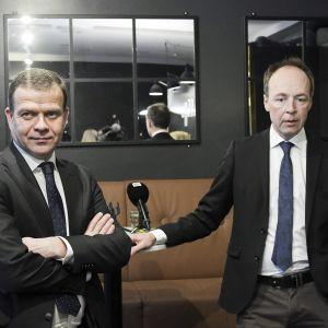 Petteri Orpo ja Jussi Halla-aho