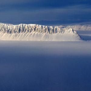 Kuva näyttää Kanadan viimeinen ehjän jäähyllyn vuodelta 2014.