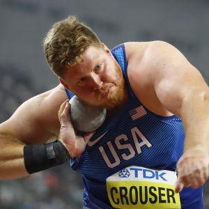 Ryan Crouser on koronakesän tilastoykkönen ennätyksellään 22,91.