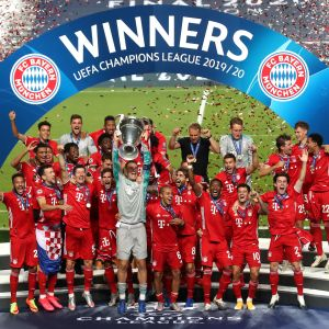 Bayern München pääsi nostamaan Mestarien liigan mestaruuspokaalia.