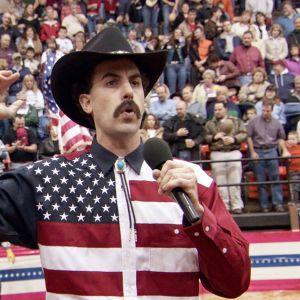 Sacha Baron Cohen elokuvassa Borat
