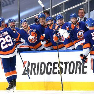 NY Islanders juhlii