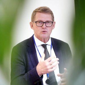 Valtiovarainministeri Matti Vanhanen