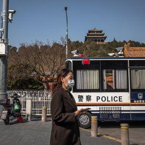 Kuvassa on näkymä Pekingiin maaliskuussa.