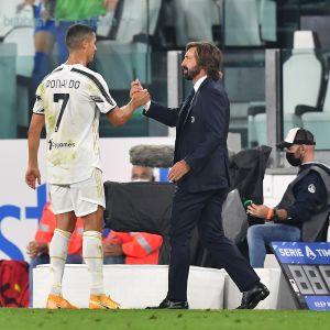 Christiano Ronaldo, Andrea pirlo