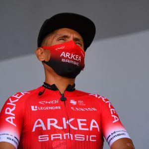 Nairo Quintana edustaa Arkea-Samsic-tallia