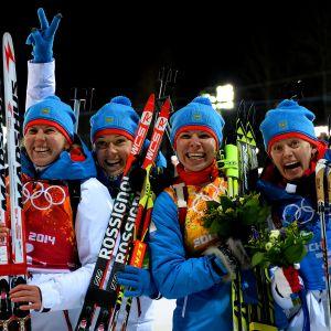 Jana Romanova, Olga Zaitseva, Jekaterina Shumilova ja Olga Viluhina