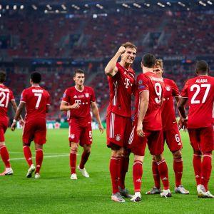 Bayern juhlii Budapestissa