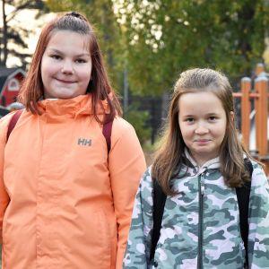 Olga Korhonen, Tiia Roininen ja Max Siira
