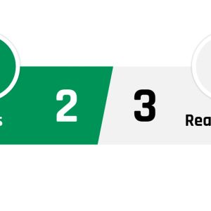 Real Betis - Real Madrid 2-3