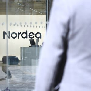 Kuvassa on Nordea-pankin logo.