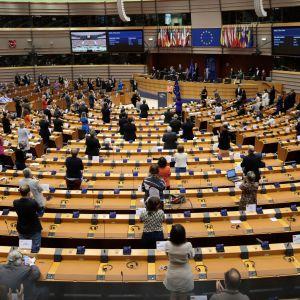 EU-parlamentti, täysistunto