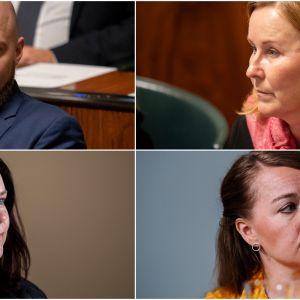 Mikko Kärnä, Kaisa Juuso, Johanna Ojala-Niemelä, Katri Kulmuni