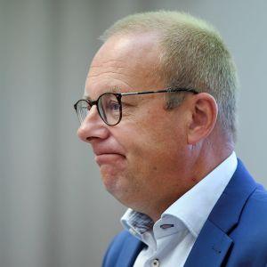 SAK:n puheenjohtaja Jarkko Eloranta SAK:n työmarkkinaseminaarissa Helsingissä keskiviikkona 2. syyskuuta 2020.