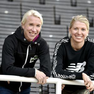 Annemari Kiekara ja Sara Kuivisto
