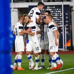 Suomen miesten jalkapallomaajoukkue, Huuhkajat Suomi-Bulgaria 11.10.