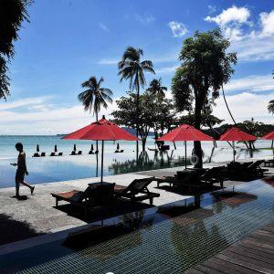 Autio uima-allasalue Thaimaan Phuketissa.