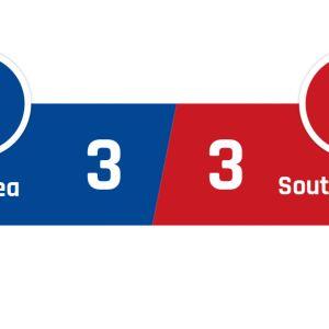 Chelsea - Southampton 3-3