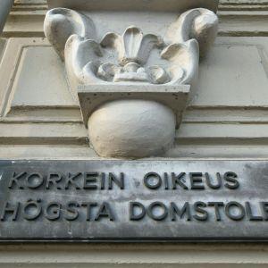 Korkein oikeus Helsingissä 22. syyskuuta