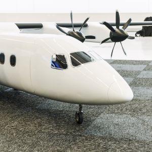 Heart Aerospacen suunnittelema sähkölentokone.