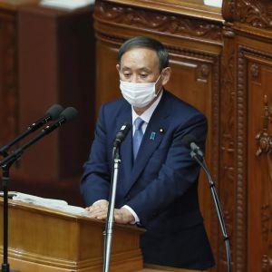 Japanin pääministeri Yoshihide Suga.