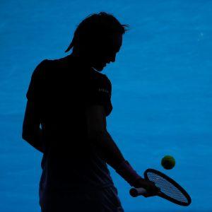 Tennispelaaja, kuvituskuva