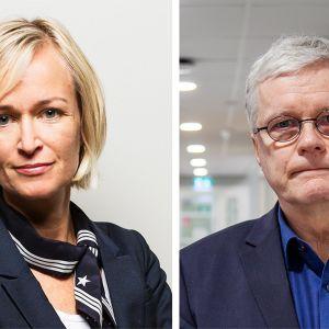 Apulaistietosuojavaltuutettu Anu Talus ja Valviran ylijohtaja Markus Henriksson.