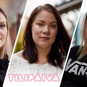 Ulla , Johanna ja Taija