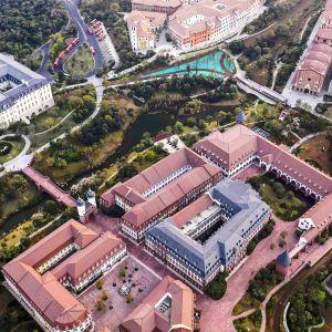 Ilmakuva Huawein kampusalueesta Kiinassa.