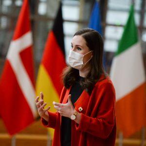 Sanna Marin, EU-lippuja