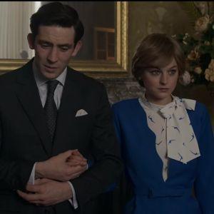 Charlesia näyttelevä Josh O'Connor ja Dianaa näyttelevä Emma Corrin.