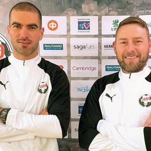 Pavle Milosavljevic ja Jimmy Wargh luotsaavat Pietarsaaren Jaroa seuraavat kaudet.