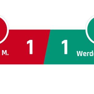Bayern München - Werder Bremen 1-1