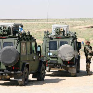 Suomalaiset rauhanturvajoukot Afganistanissa.