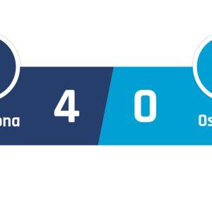 Barcelona - Osasuna 4-0