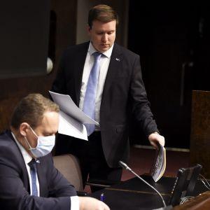 Jani Mäkelä ja Ville Tavio
