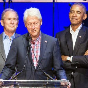George W. Bush, Bill Clinton ja Barack Obama