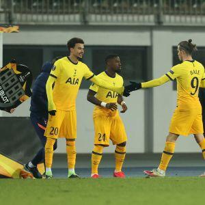 Tottenhamin Dele Alli tuli vaihdosta kentälle Linzissä.